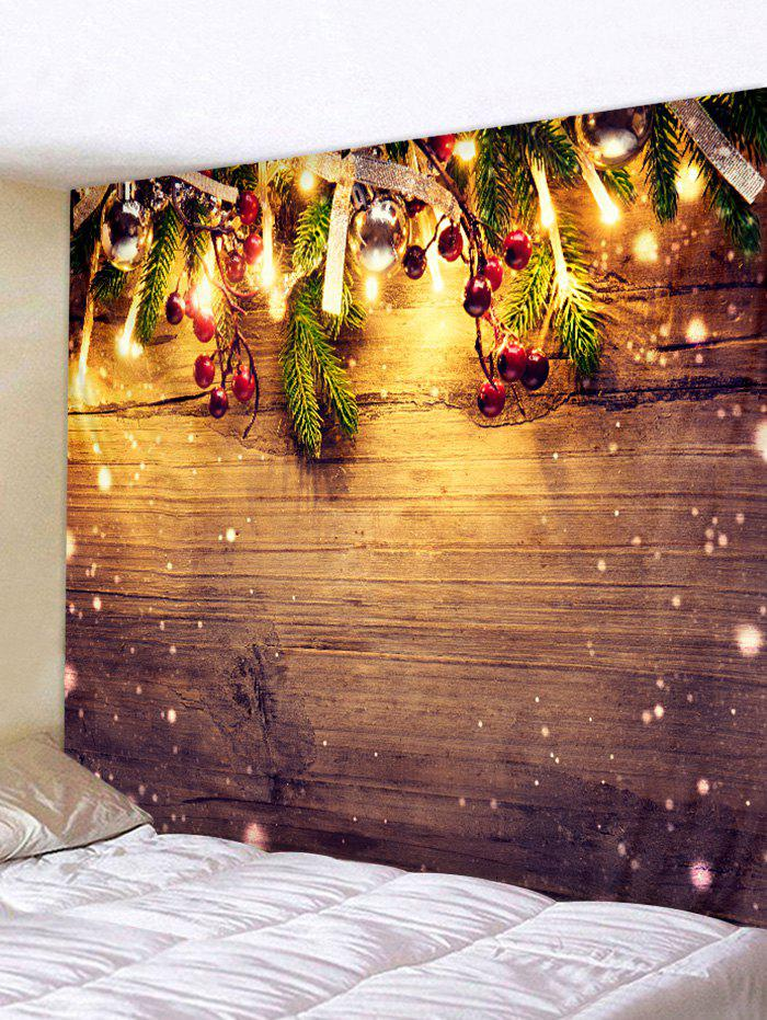 Christmas Decor Print Art Tapestry - W91 X L71 Inch