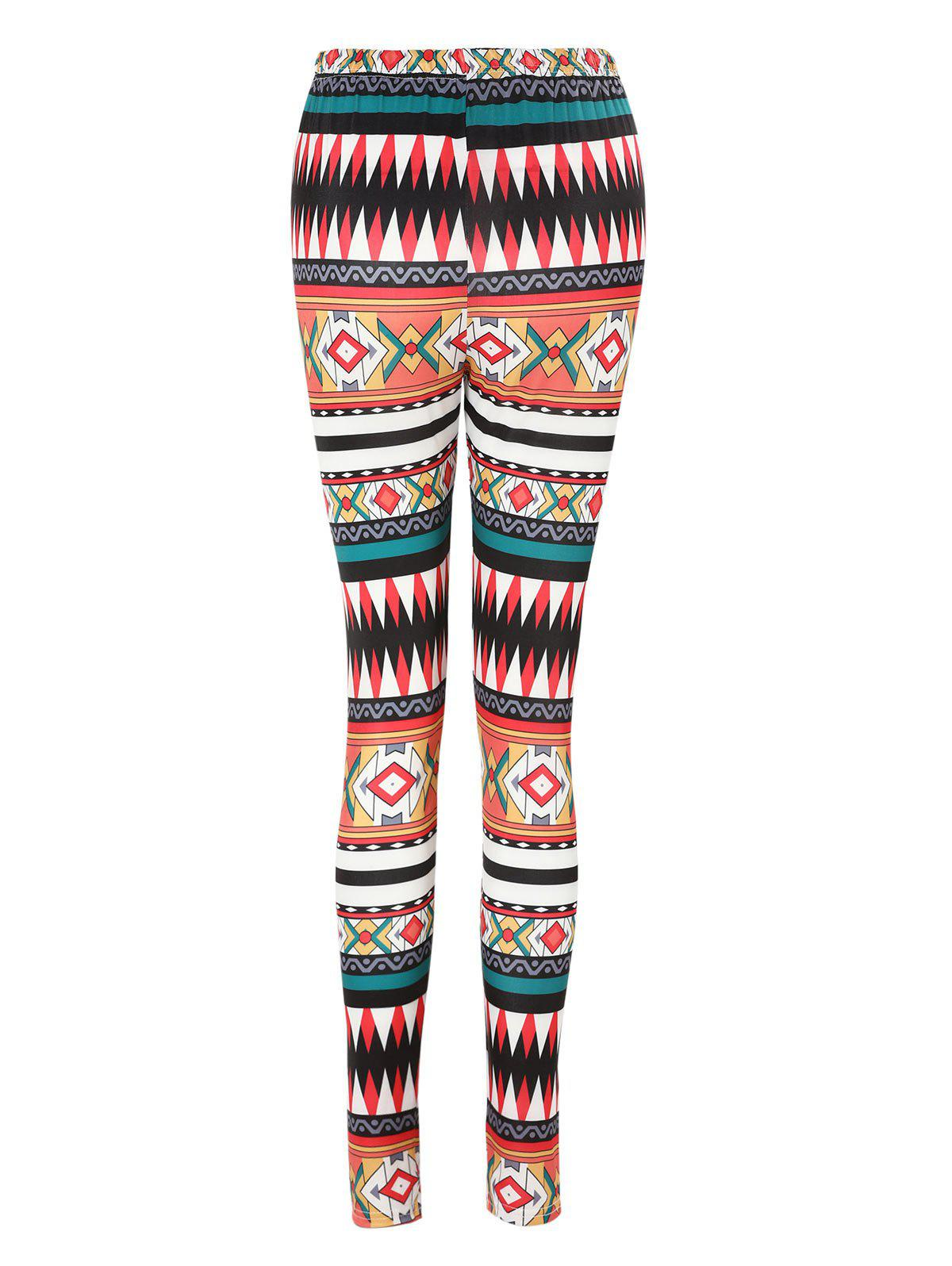 Sale High Waisted Printed Leggings