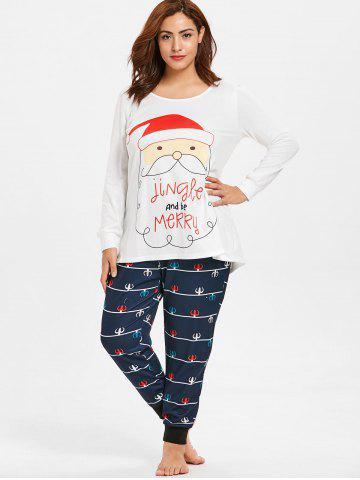 Christmas Plus Size Pajamas Set