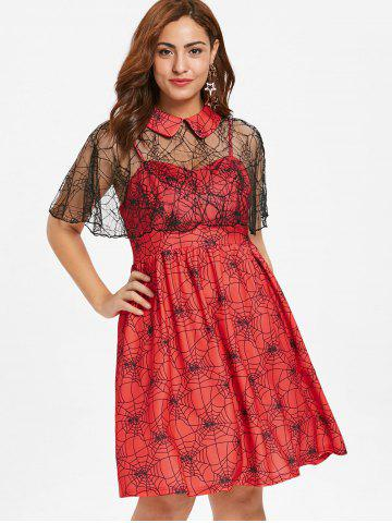 295ae74a04 Red Cape Dress - Free Shipping, Discount And Cheap Sale | Rosegal