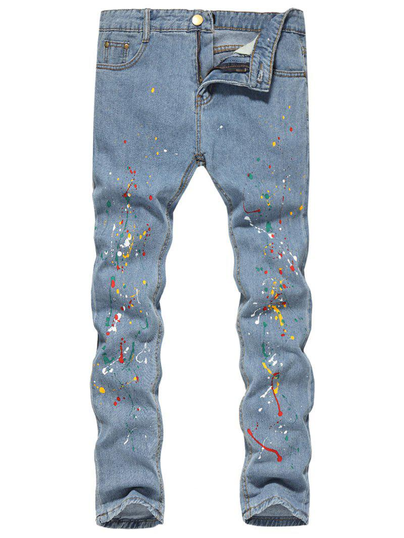 Shops Splash Zip Fly Jeans