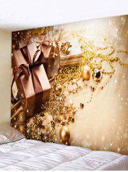 Christmas Bell Gifts Print Tapestry Art Decoration -