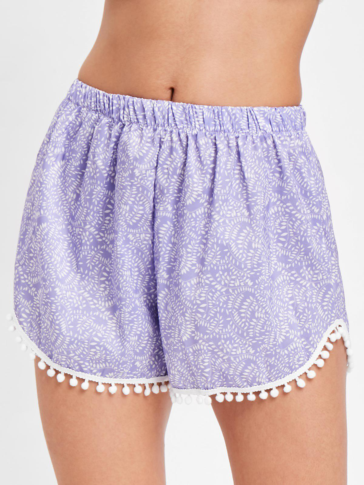 Outfit Pull On Pom Pom Beach Shorts