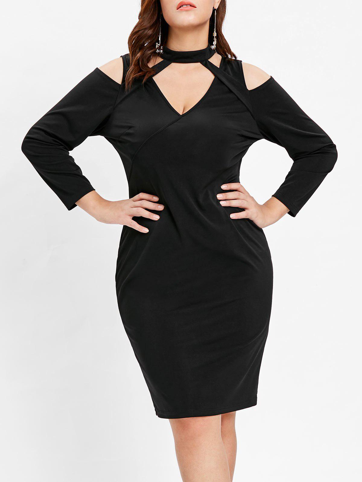 Best Plus Size Long Sleeve Bodycon Dress