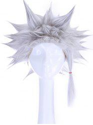 Anime Cosplay Short Straight Tail Upwards Synthetic Wig -