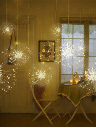Hanging String Firework Light with Remote Control -