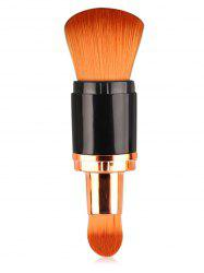Cosmetic Double Ended Telescopic Makeup Brush -