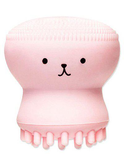 New Cartoon Octopus Double Ended Silicone Facial Cleansing Brush