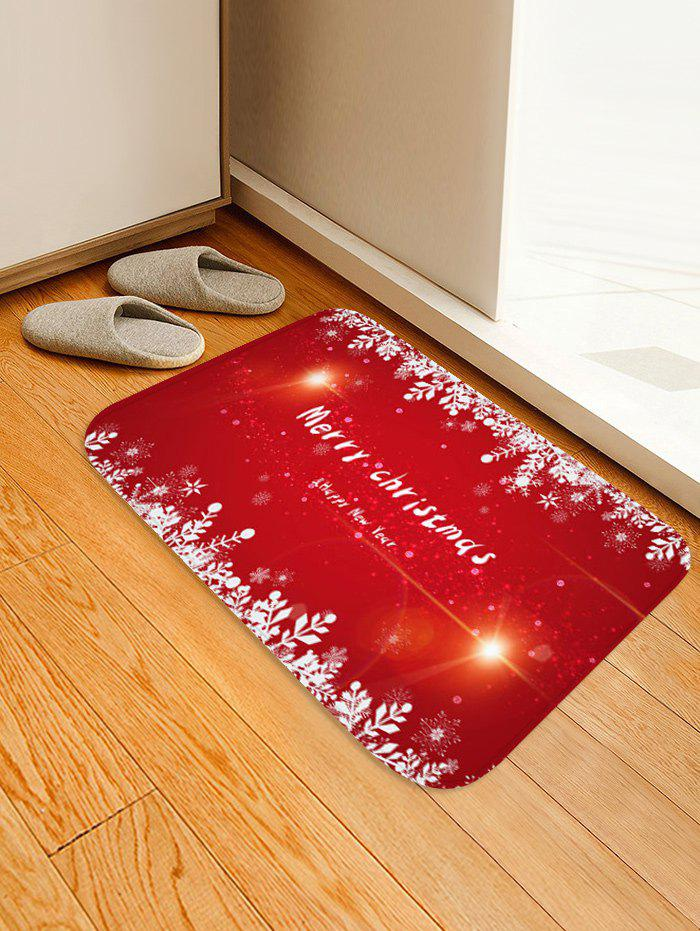 Cheap Merry Christmas Pattern Anti-skid Flannel Area Rug