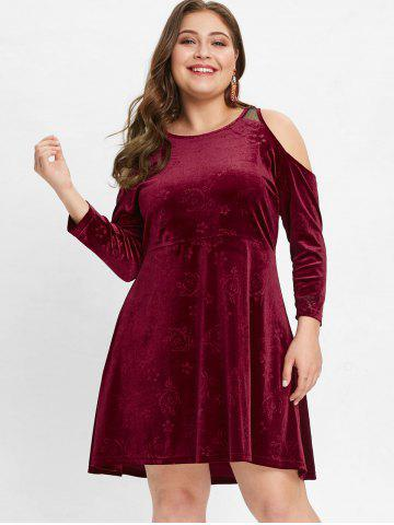 bf952f5e2d Velvet Plus Size Dress - Free Shipping, Discount And Cheap Sale ...