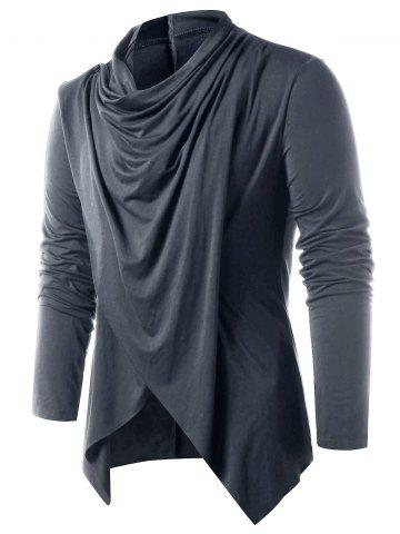 Convertible Open Front Cardigan