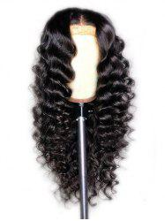 Synthetic Long Center Parting Loose Wave Wig -