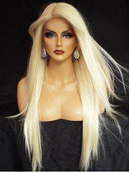Long Side Parting Straight Synthetic Party Lace Front Wig -
