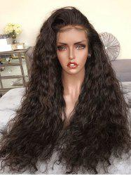 Long Free Part Water Curly Synthetic Lace Front Wig -