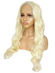Long Middle Part Wavy Party Synthetic Lace Front Wig -