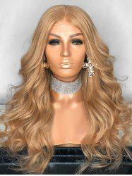 Long Party Center Parting Wavy Lace Front Synthetic Wig -