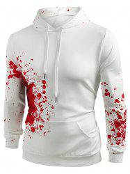 Halloween Splashing Paint Casual Hoodie -