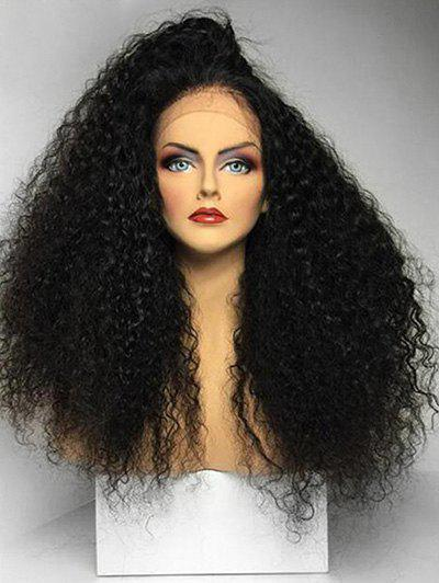 Discount Free Part Fluffy Long Curly Synthetic Lace Front Wig