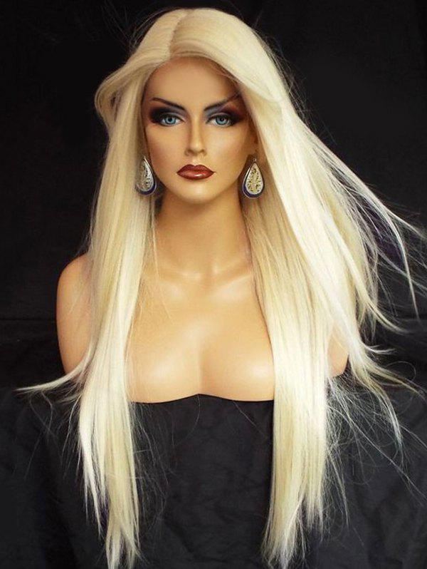 Outfits Long Side Parting Straight Synthetic Party Lace Front Wig