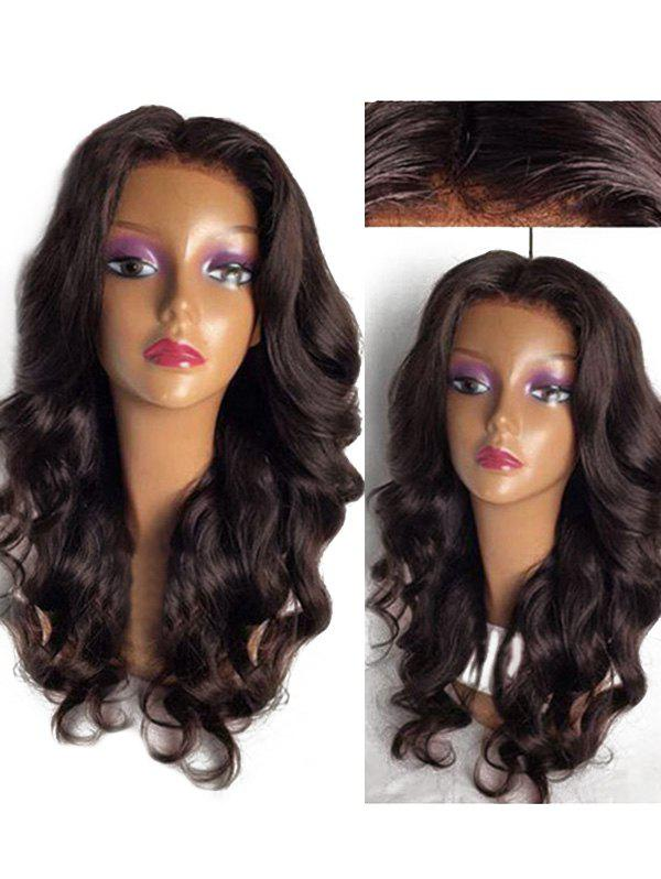 Outfits Long Center Parting Loose Body Wave Lace Front Synthetic Wig