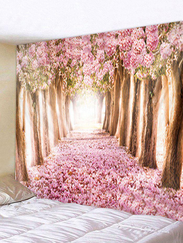 New Flower Trees Avenue Print Tapestry Wall Hanging Decoration