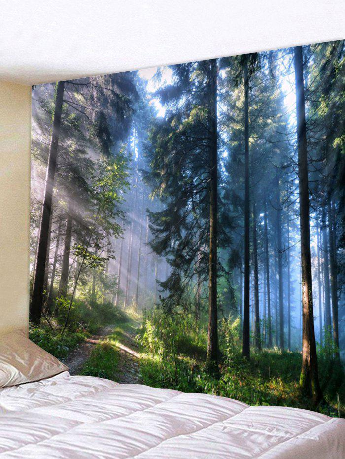 3D Forest Print Tapestry Art Decoration
