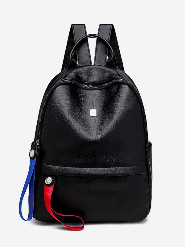 Online Multi Functional PU Leather School Backpack