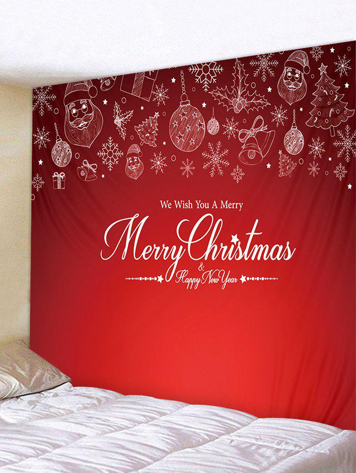 Hot Merry Christmas Print Tapestry Art Decoration