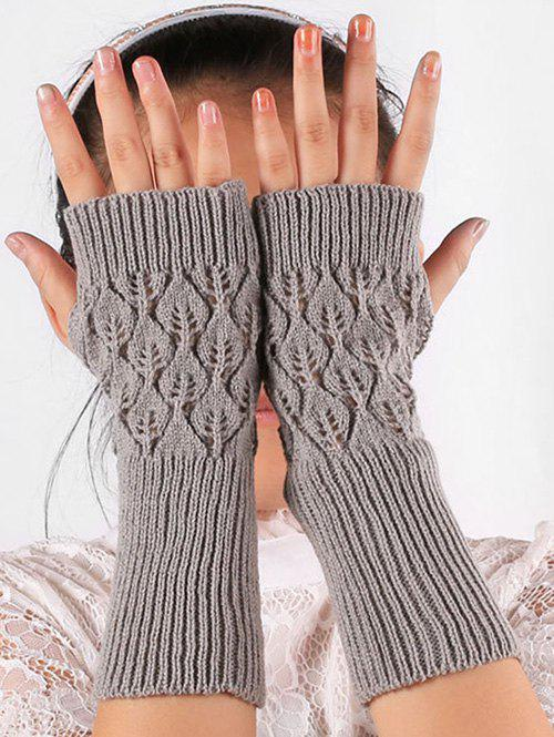 Hot Vintage Hollow Out Knit Gloves