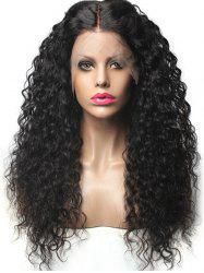 Middle Part Long Water Wave Synthetic Lace Front Wig -
