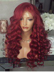 Long Free Part Body Wave Party Lace Front Synthetic Wig -