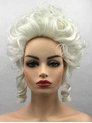 Short Film Characters Cosplay Curly Synthetic Wig -