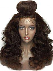 Medium Free Part Body Wave Lace Front Human Hair Wig -