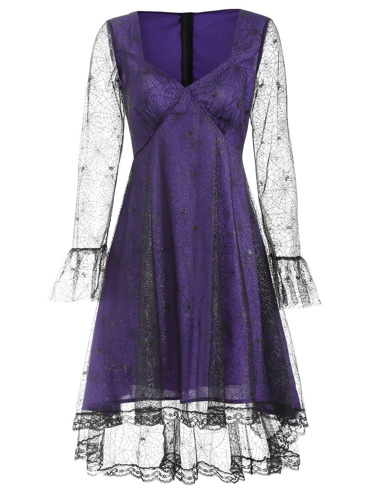 Outfit Sweetheart Neck Halloween Dress
