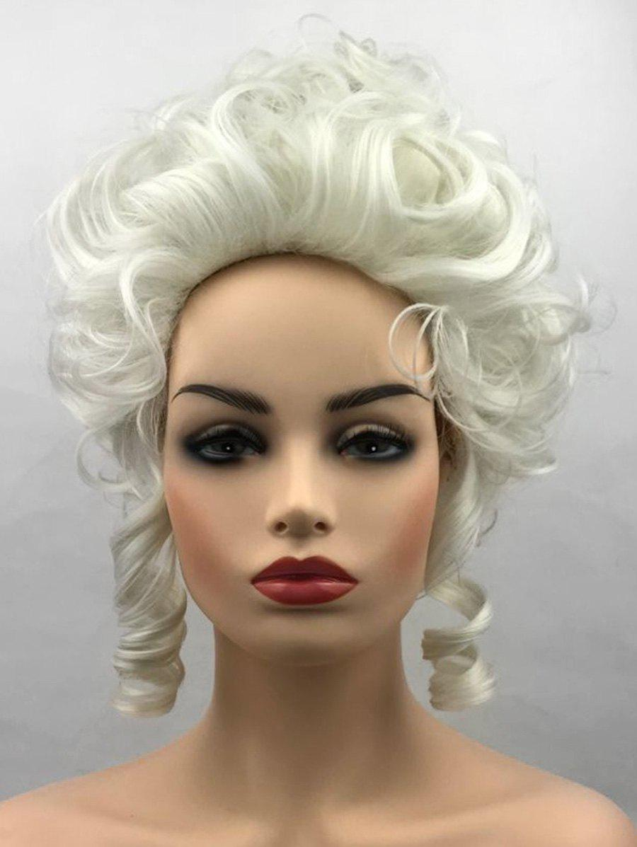 New Short Film Characters Cosplay Curly Synthetic Wig
