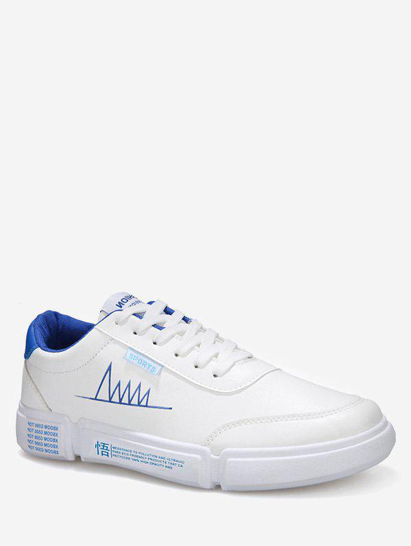 b0745942bfd5 38% OFF   2018 Casual Graphic Low Top Skate Sneakers In Blue Eu 43 ...