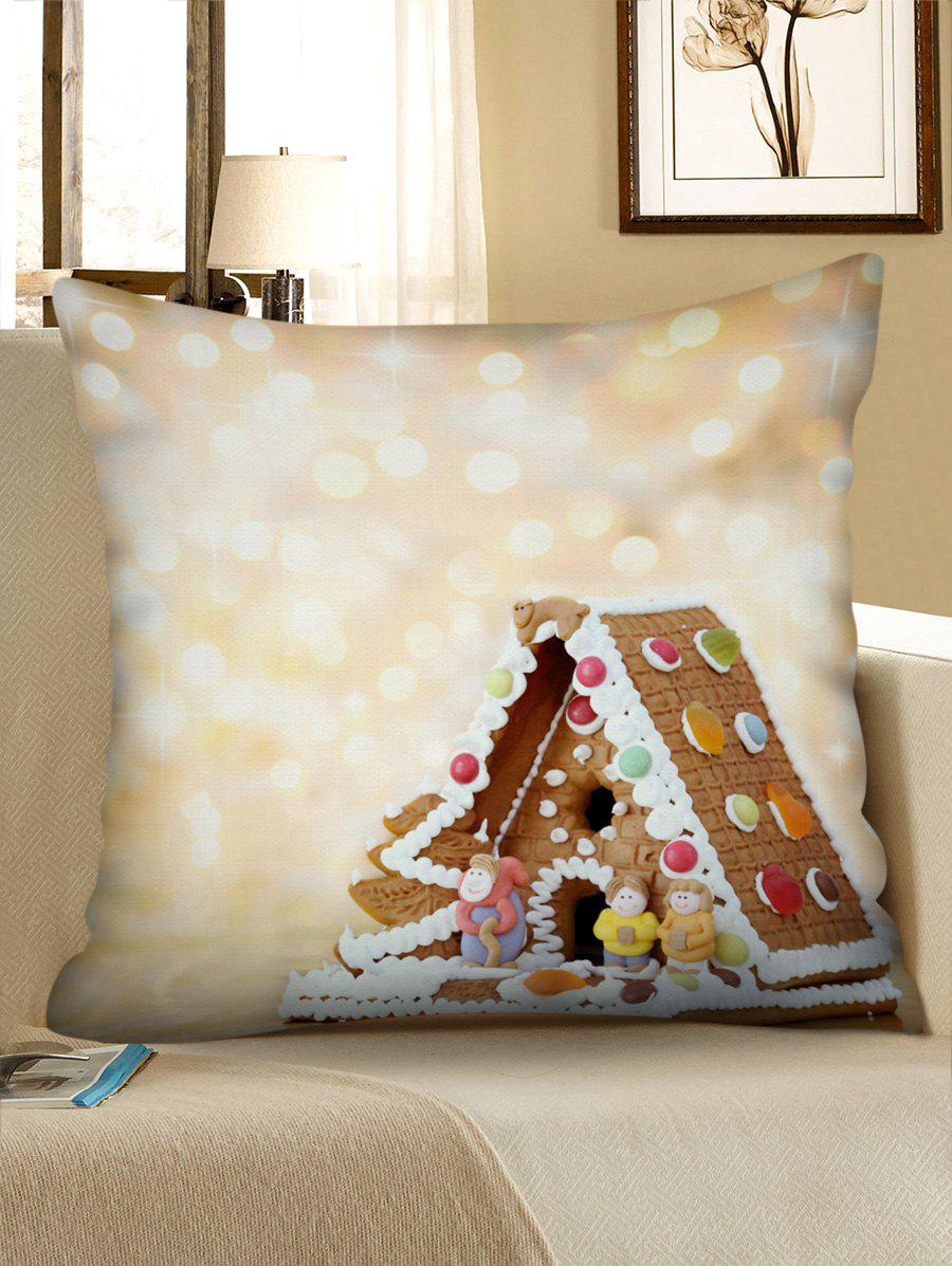 Outfits Christmas House Printed Pillowcase