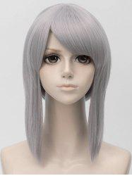 Short Side Bang Straight Anime Cosplay Synthetic Wig -