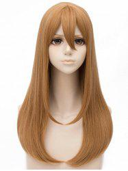 Long Straight Anime Cosplay Synthetic Wig -