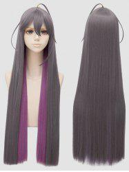 Long Side Bang Colormix Anime Cosplay Synthetic Wig -