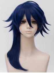 Long Side Bang Layer Straight Cosplay Anime Synthetic Wig -