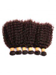 Short Synthetic Kinky Curly Hair Weaves -