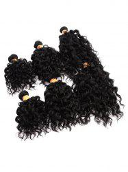 Short Water Wave Synthetic Hair Weaves -