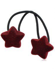 Star Decoration Elastic Hair Band -