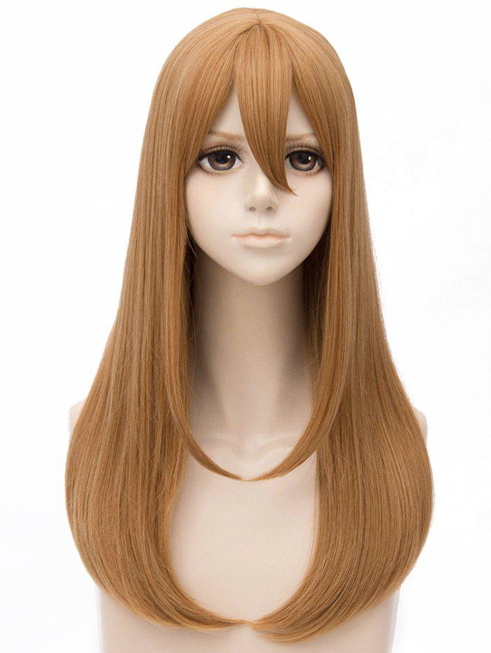 Latest Long Straight Anime Cosplay Synthetic Wig