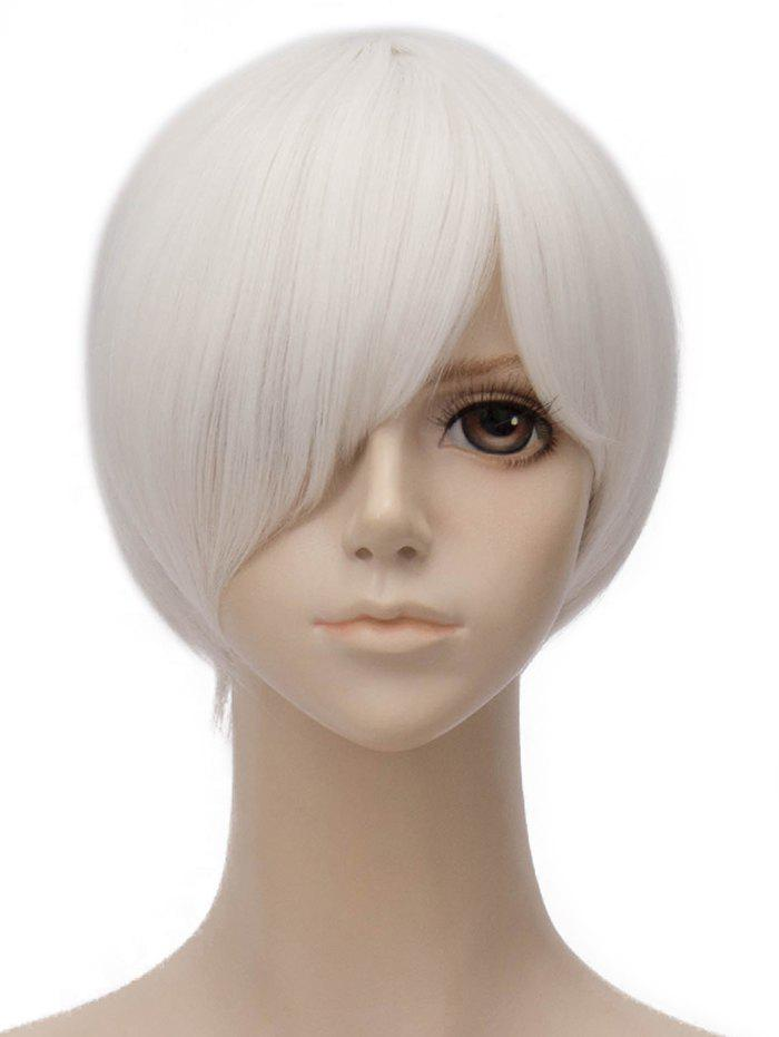 Shops Short Side Bang Straight Anime Cosplay Lolita Synthetic Wig