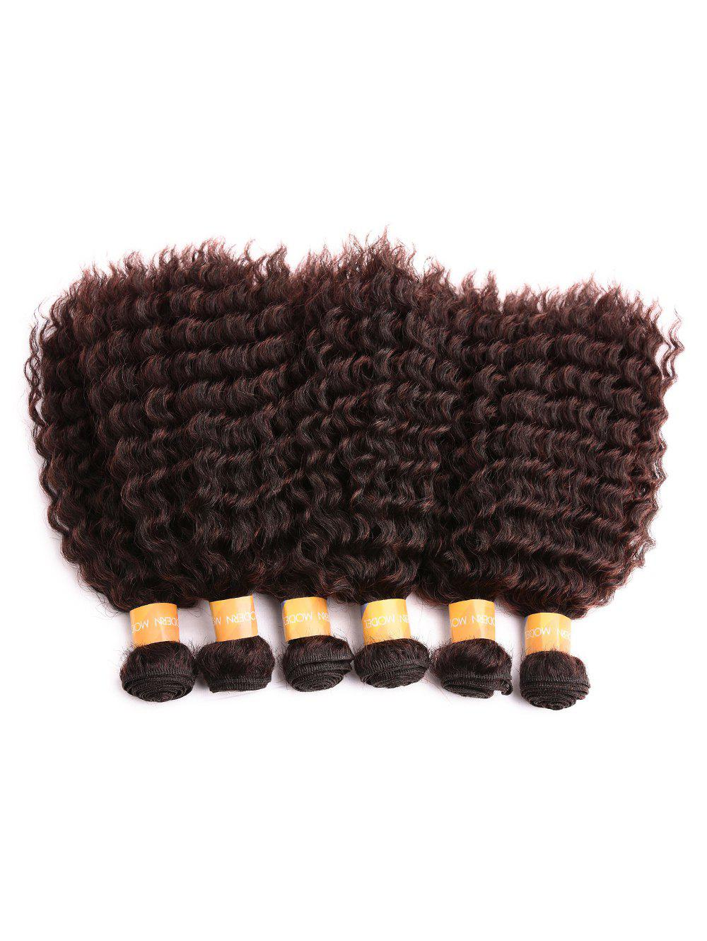 Online Short Synthetic Kinky Curly Hair Weaves