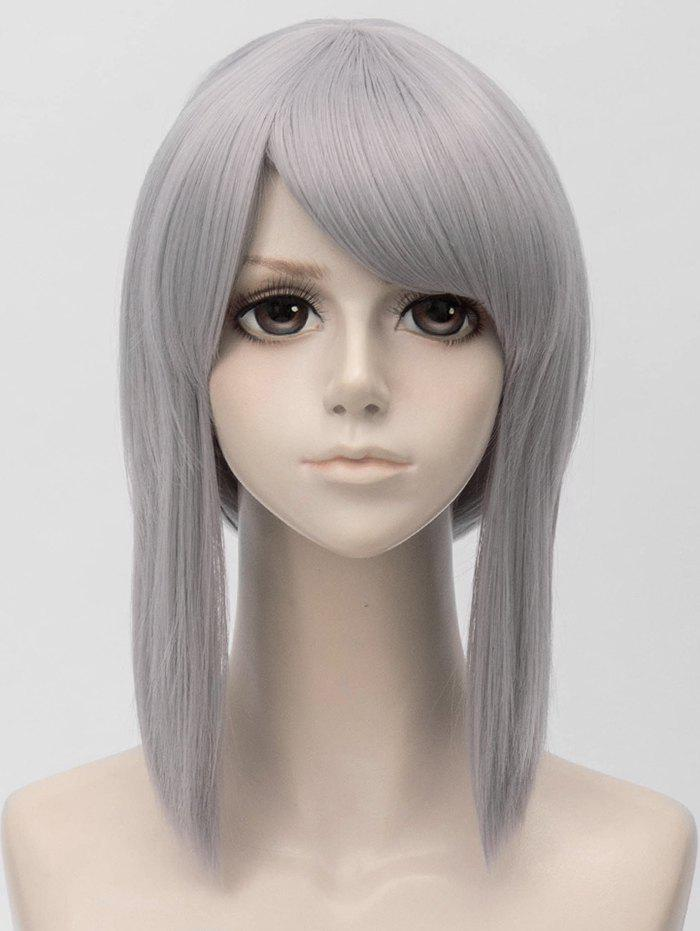 Outfits Short Side Bang Straight Anime Cosplay Synthetic Wig