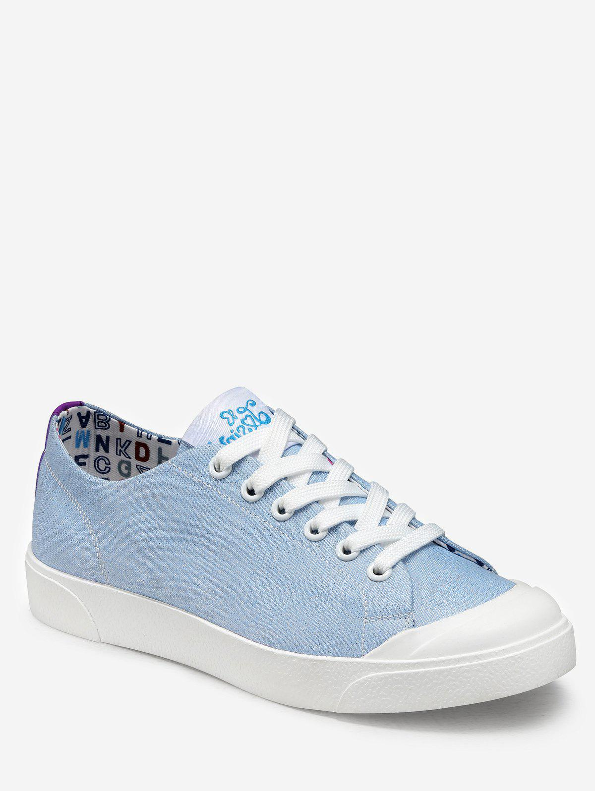 Fashion Glitter Lace Up Leisure Sneakers
