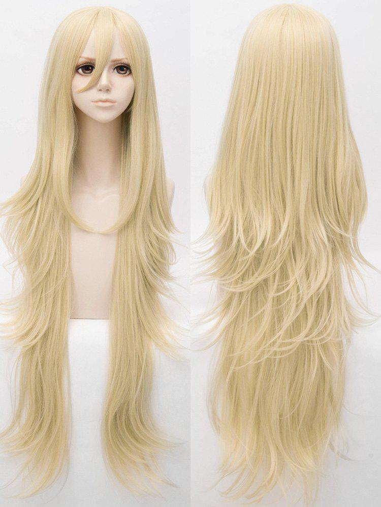 Online Long Slightly Curly Anime Cosplay Synthetic Wig